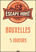 ESCAPE GAME BRUXELLES - 5 PERSONNES