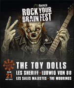 ROCK YOUR BRAIN FEST - DISORDER DAY