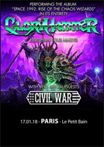 GLORYHAMMER + CIVIL WAR
