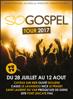 SO GOSPEL TOUR 2017 CASSIS