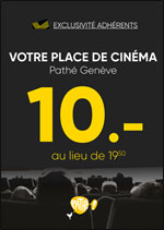 CINEMA A 10.- PATHE GENEVE