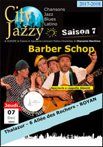 CITYJAZZY  BARBER SHOP QUARTET