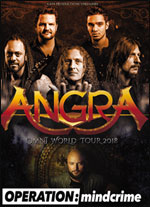ANGRA + OPERATION MINDCRIME