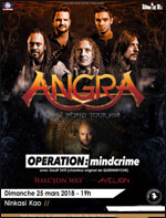 ANGRA + OPERATION : MINDCRIME +