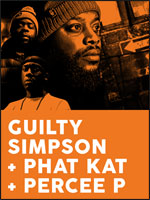 GUILTY SIMPSON+PHAT KAT+PERCEE P
