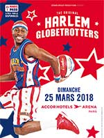 HARLEM GLOBETROTTERS - PARIS / MAGIC PASS