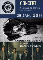 ANDREANE LE MAY + BEARS TOWERS