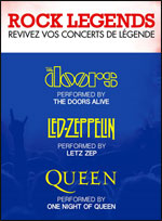 ROCK LEGENDS : THE DOORS ALIVE -
