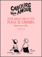 CABOURG, MON AMOUR 2018 - PASS 3J