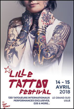 LILLE TATTOO - 2 JOURS