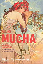 ALPHONSE MUCHA  / ENTRÉE SIMPLE