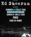 Réservation ED SHEERAN STADE DE FRANCE - PARIS