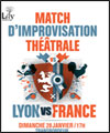 Réservation LYON VS FRANCE