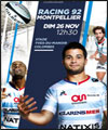 Réservation RACING 92 / MONTPELLIER HR