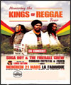 Réservation HONORING THE KINGS OF REGGAE