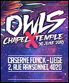 Réservation OWLS' CHAPEL X TEMPLE