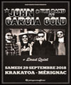 Réservation JOHN GARCIA & THE BAND OF GOLD