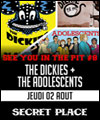 Réservation THE DICKIES X THE ADOLESCENTS